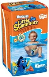 HUGGIES 11szt Little Swimmers size 5-6 Pieluchy