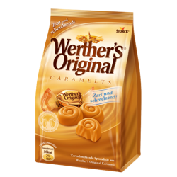 WERTHER'S 153g Original Caramelts Cukierki